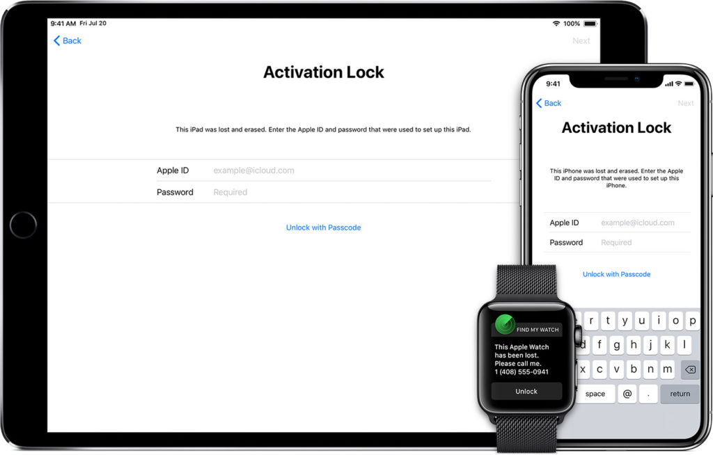 Activation Lock for iPhone, iPad and