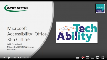Microsoft Accessibility: Office 365 Online