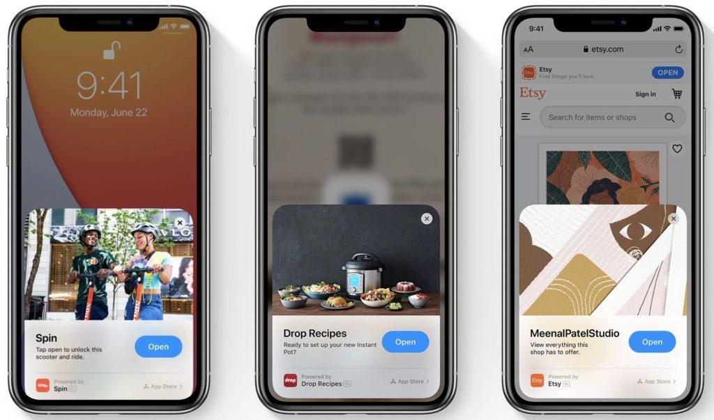 iOS App clips