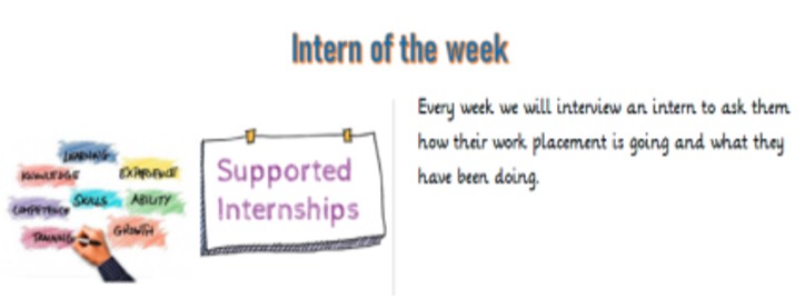 Interns writing a blog